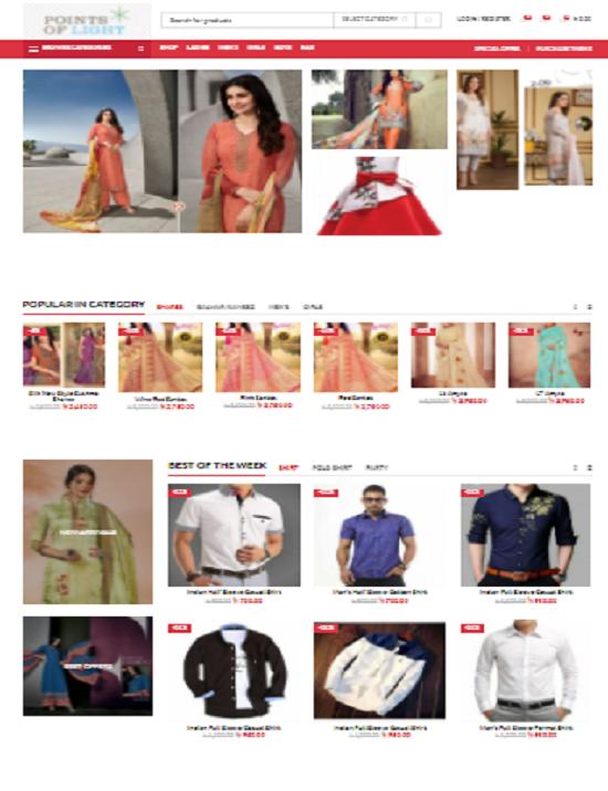 E-commerce Web Application For Hafsa